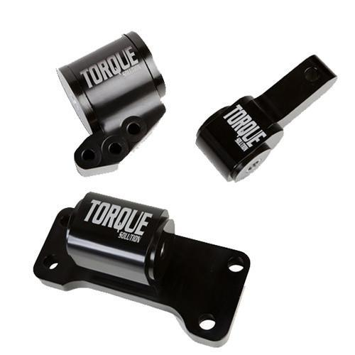 Torque Solution Mitsubishi EVO VII-IX Billet 3 piece mount Kit (Mitsubishi Evolution VII-IX 2001-2006)