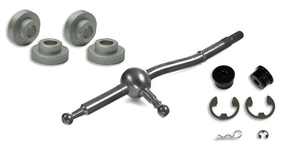 Short Shifter, Base, and Shifter Cable Bushing Combo: Mitsubishi Evolution X 2008-2009 by Torque Solution