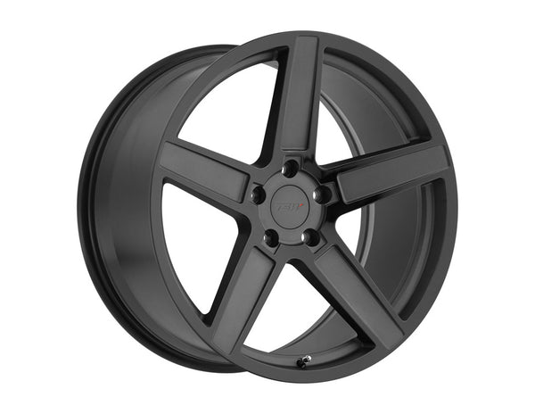 TSW Ascent Matte Gunmetal w/Gloss Black Face Wheel 18x9.5 5x114.30 20mm