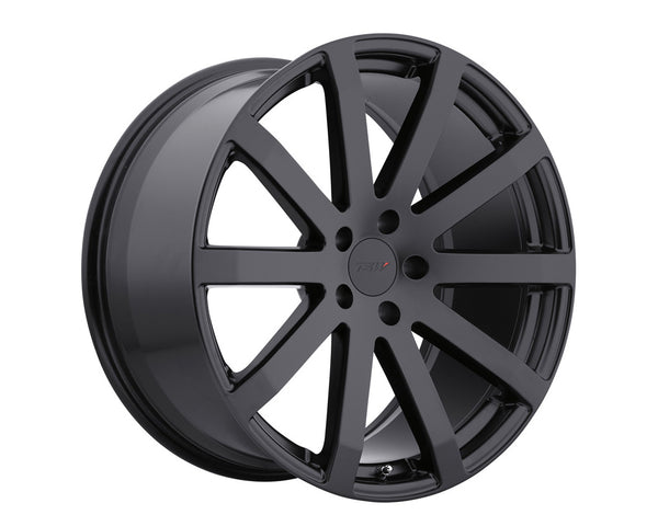 TSW Brooklands Matte Black Wheel 18x9.5 5x114.30 40mm