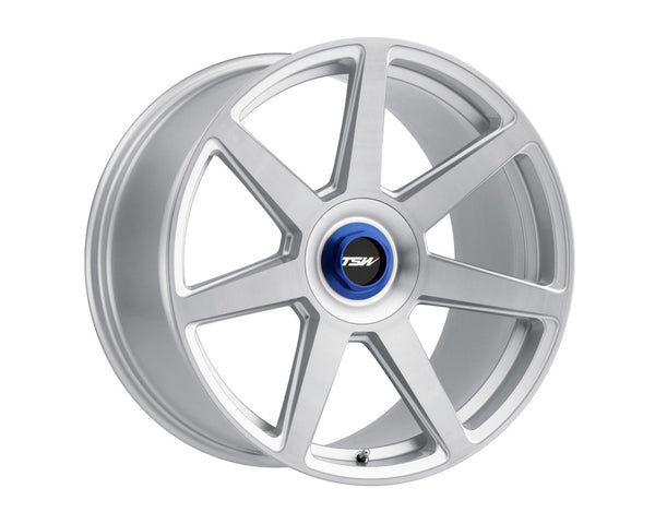 TSW Evo-T Silver w/Brushed Face Wheel 20x10.5 5x114.30 42mm