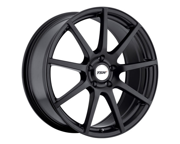 TSW Interlagos Matte Black Wheel 20x8.5 5x114.30 40mm