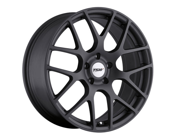 TSW Nurburgring Matte Gunmetal Wheel 19x8.5 5x114.3 45mm