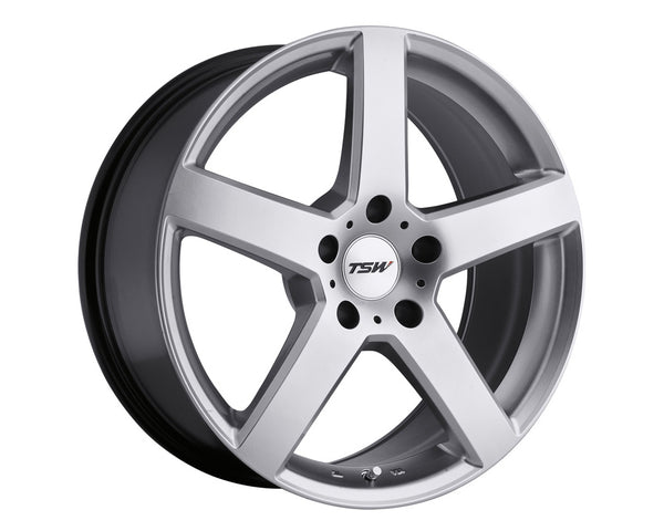 TSW Rivage Hyper Silver Wheel 19x8 5x114.3 20mm