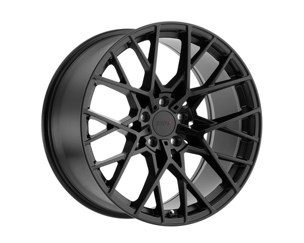 TSW Sebring Matte Black Wheel 18x8.5 5x114.3 30mm