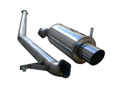 Ultimate Racing Catback Exhaust | 2003-2007 Mitsubishi Lancer Evolution VIII & IX (20026)