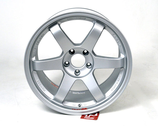 Volk Racing TE37SL Limited Edition Titanium Silver Wheel 18x11 5x114.3 18mm