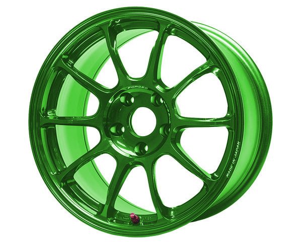 Volk Racing ZE40 Hyper Green Wheel 18x10.5 5x114.3 +24mm