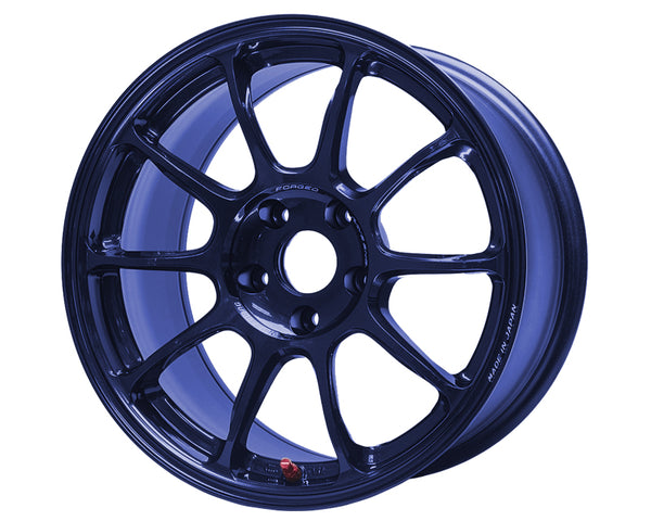 Volk Racing ZE40 MAG Blue Wheel 18x10 5x114.3 +35mm
