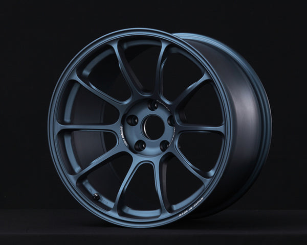 Volk Racing ZE40 Matte Blue Gunmetal Wheel 18x10.5 5x114.3 +15mm