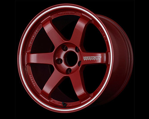 Volk Racing Burning Red TE37 RT Wheel 18x11 5x114.3 17mm