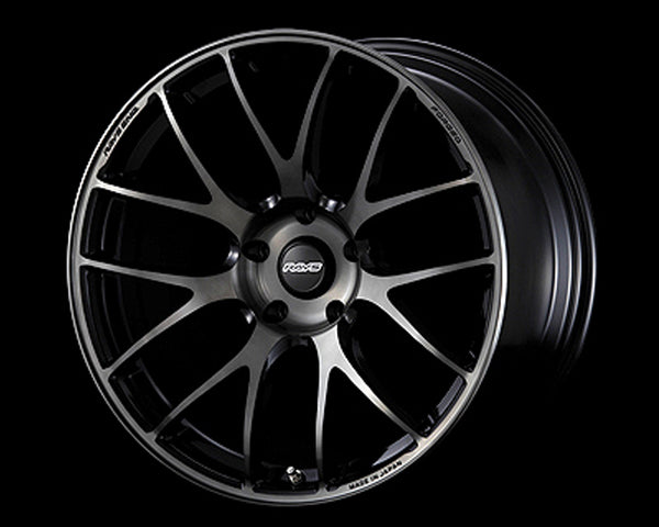 Volk Racing Pressed Black Clear G27 Progressive Model Wheel 19X9.5 5x114.3 38mm
