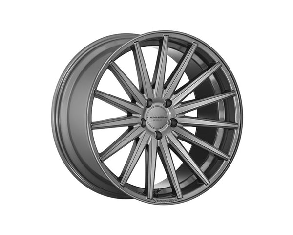 Vossen VFS2 Gloss Graphite Flow Formed Wheel 22x9 5x115 15mm