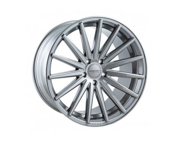 Vossen VFS2 Silver with Polished Face Flow Formed Wheel 20x10 5x114.3 45mm