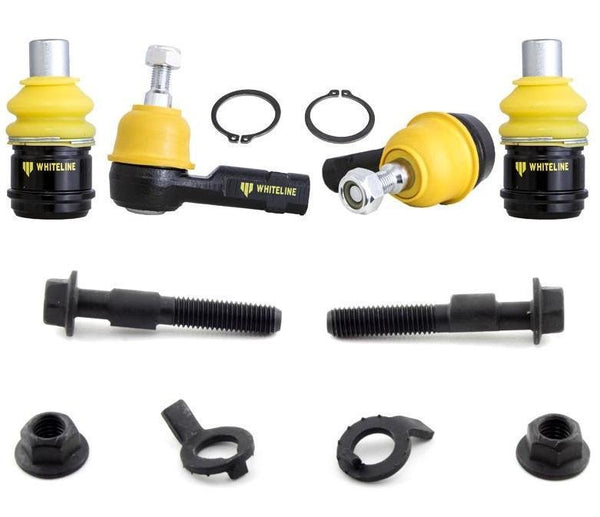 Whiteline Front Roll Center Adjustment Kit | 2003-2015 Mitsubishi Evo 8/9/10 (KCA395+KCA414)