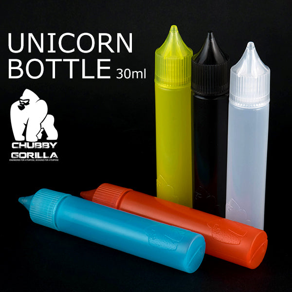 Chubby Gorilla PET Unicorn Bottles