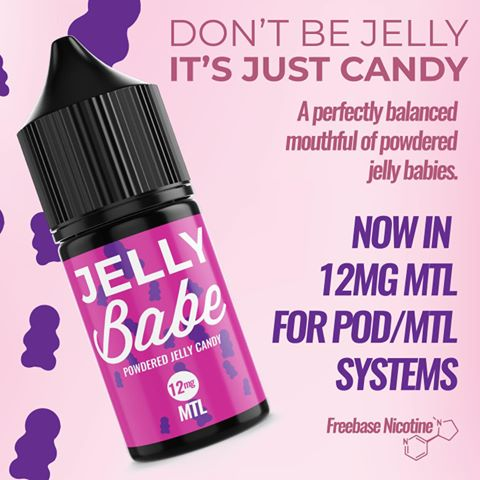 Jelly Babe by Hazeworks | MTL | 12mg | 30ml