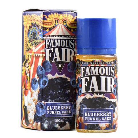 BLUEBERRY FUNNEL CAKE BY FAMOUS FAIR ELIQUID 100ML