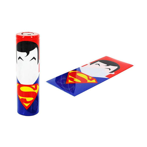 Battery Wraps Superman