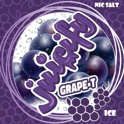Juicify - Grape-T ICE | Nic Salt | G-Spot | 35mg | 30ml