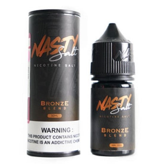 Tobacco Bronze - Nasty Salt Nic / 35mg / 30ml
