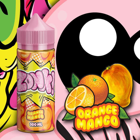 Juice Man - Zonk Orange Mango 100ml