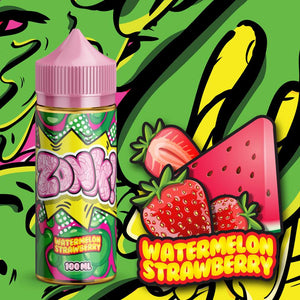 Juice Man - Zonk Strawberry Watermelon  100ml