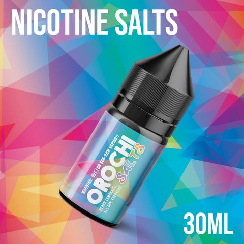 Majestic Vapor - Orochi Iced Up Nic Salt / 35mg / 30ml