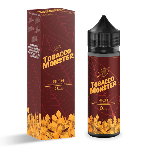 Rich Tobacco | Monster MTL | 12mg | 60ml