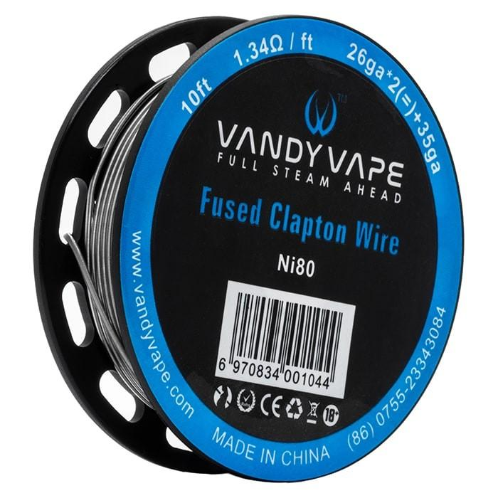 Vandy Vape NI80 Fused Clapton spool