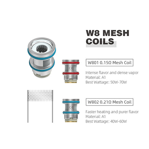 Hellvape Wirice Launcher Replacement Coils