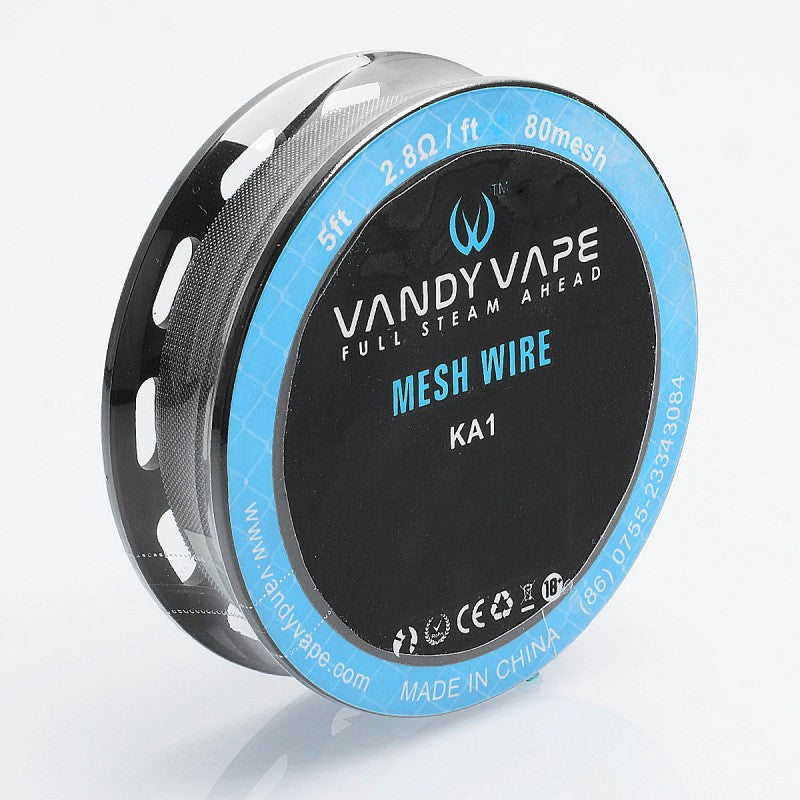 Vandy Vape Mesh Wire NI80 Mesh 5ft