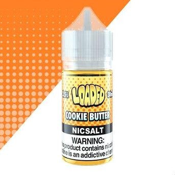 Loaded - Cookie Butter Nic Salt / 35mg & 50mg / 30ml