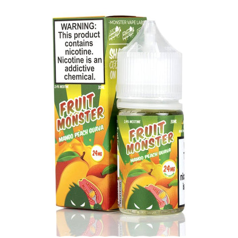 Fruit Monster Mango Peach Guava Nic Salt / 24mg & 48mg / 30ml