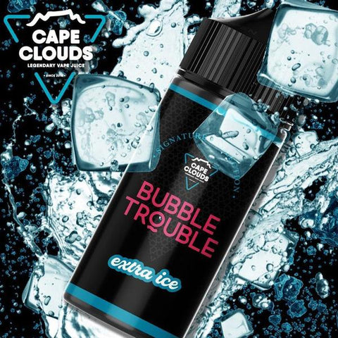 Bubble Trouble Extra Ice | Cape Clouds | MTL | 12mg | 30ml
