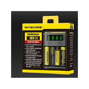 NiteCore Intellicharger New i4 - Four Bay Battery Charger