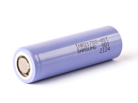 Samsung 40T 21700 B 4000mAh High Drain Rechargeable Battery