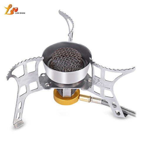 LANSHAN ZYH - 001 Picnic Big Power Windproof Gas Stove - Gearzii Outdoors