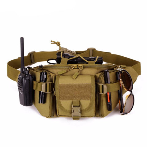 Tactical Waterproof Molle Belt Bag - Gearzii Outdoors