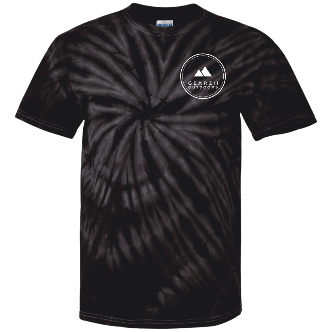 "Gearzii – Youth Tie Dye T-Shirt ""Take A Hike"""