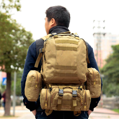 Outdoor Military Molle Tactical Rucksack