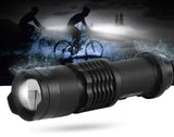Waterproof bike flashlight - Gearzii Outdoors