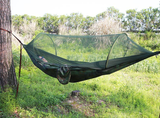 2 Person Parachute Hammock with Pop Up Mosquito Net - Gearzii Outdoors