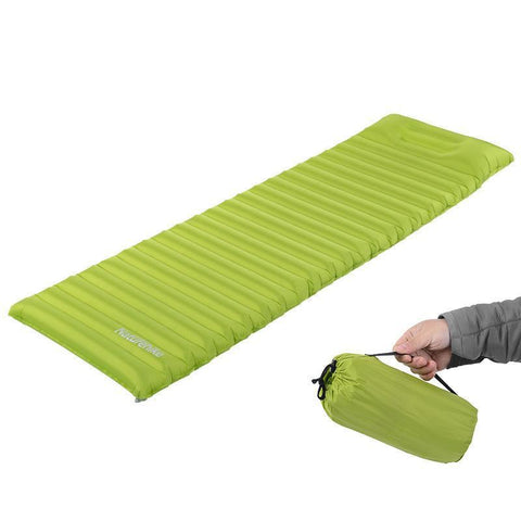 Super Light Fast Filling Sleeping Pad with Pillow