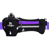 Runners Waist Belt with Water Bottle