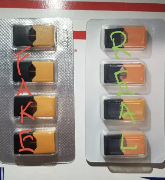 Fake Juul pods in UAE BEWARE BEFORE PURCHASE - Gulf Vapors