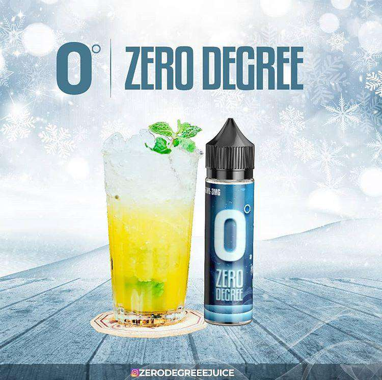 Mint Lime - Zero degree ejuice eliquid