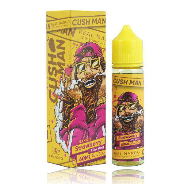 Cush Man Series – Mango Strawberry - Gulf Vapors