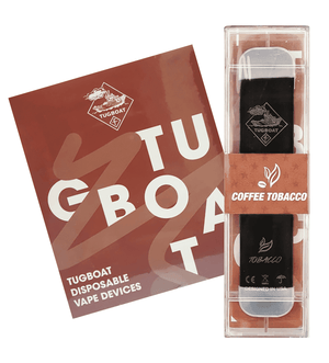 Coffee Tobacco - TUGBOAT V2 DISPOSABLE POD DEVICE (Pack of 3)