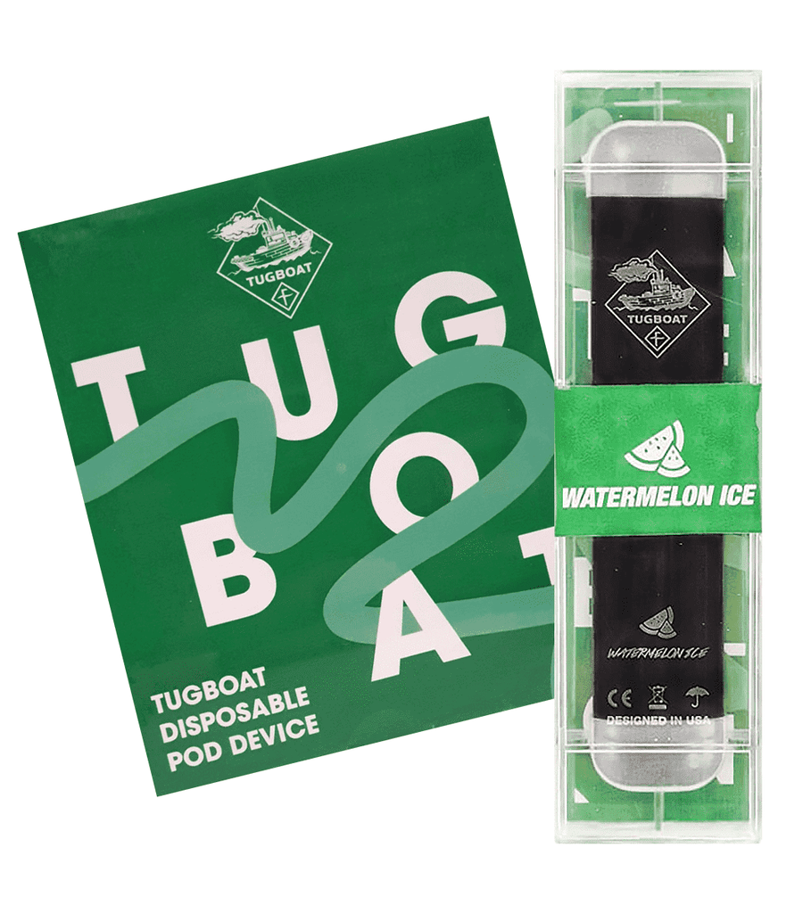 Watermelon ice - TUGBOAT V2 DISPOSABLE POD DEVICE (Pack of 3)